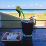 95779578 - 青い海を見ながらモーニングコーヒー(//∇//)