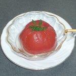 遊膳 グレビー - トマトの自家製梅酒煮