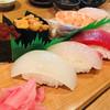 かつ田 - 料理写真:上握り