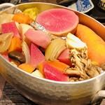 祇園びとら、 - 京野菜のヴァプール