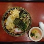 竹の家 - 料理写真:力うどん 1,150円