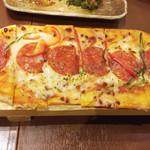 甘太郎 - ミックスロングピザ