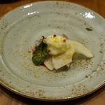 MATSU - おまかせ 〆鯖と林檎と紅芯大根