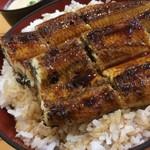 うなぎ処 もりやま - うな丼大盛り(2,600円)