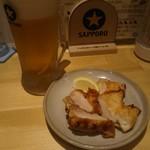 おひさまげんき食堂 - 生ビールと唐揚げ/小