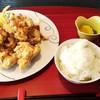 Nihonryourishakunage - 料理写真:からあげ定食(1100円)