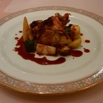 ベルクール - 料理写真:鶏肉 名前忘れた