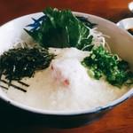 海舟 - 料理写真:マグロ山かけ