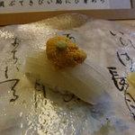 梅乃寿司 - 9/21 イカうに。