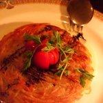 酒房食堂 dish - ハモをはさんだじゃがいものガレット