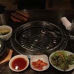 95793585 - 焼肉定食(980円)