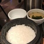 95793595 - 釜ごはん・スープ・出汁