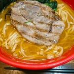 ラーメン横浜家 - 凄い美味しいスープ。o゜ヤバ(p´□`q)ヤバ゜o 。