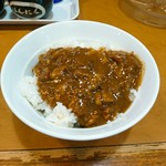 ラーメン横浜家 - 茶碗カレーがまたまた美味しい( ・∀・) イイネ!✨✨✨