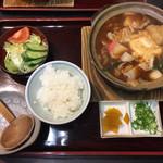 伊賀大正庵 - 味噌煮込みうどん定食