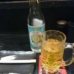 だんどり - 金宮ボトル、烏龍茶割り。