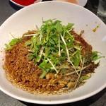 タンタンタイガー - レディース汁なし担々麺(150g)850円 肉増し 100円