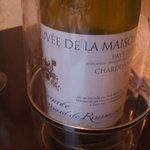 ビストロ酒場staub - 美味しいワインだったので銘柄を覚えようと。『キュヴェ・ドゥ・ラ・メゾン』。
