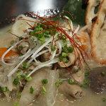 呂龍 - 牛モツの塩煮込み