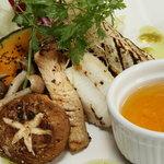 呂龍 - 秋野菜のグリル アイオリソース
