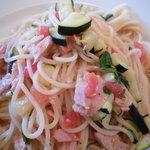Cucina Italiana Pasta Piatto - 本日のパスタ・ツナとズッキーニとフレッシュトマト