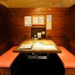 薩摩丹田 - ③テーブル席