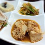 刀削麺 福龍門 - 麻婆豆腐…優しいテイスト