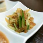 刀削麺 福龍門 - 中華くらげ(酢物)
