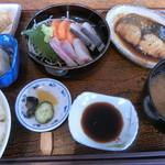 95800443 - おすすめ膳。煮魚(鰆)。1500円