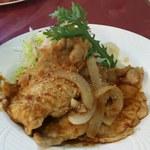 レストラン三國 - ポーク生姜焼き