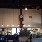 トラットリア ラ・ルーチェ - インテリアの時計も可愛いです。
