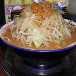 ラーメンビリー - ラーメン 780円 にんにく無、野菜増し、アブラ