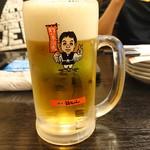 世界の山ちゃん - 2018年11月 生ビール