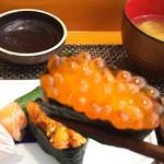 玄海鮨 - イクラ 軍艦巻