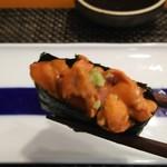 玄海鮨 - ウニ です