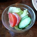梨の木 - ナポリタンのセットサラダ