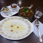 95805270 - 和牛ビーフカレー+季節の野菜