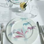 95805960 - お皿の柄がお馬さん。素敵。