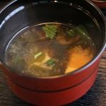 きむら - お味噌汁。