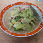 長崎ちゃんめん - 野菜たっぷりちゃんめん(745円、斜め上から)