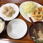 95809649 - 春巻定食