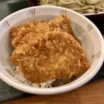 越後長岡 小嶋屋 - へぎそばとタレかつ丼(小)セット4