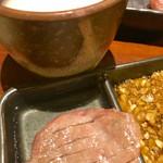 匠家33 - 熟成タン塩焼は柔らかく旨味たっぷりで絶品