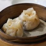 老辺餃子館 - 海蝦餃子(サザエの具入り)