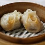 老辺餃子館 - 蟹肉餃子(かにの具入り)