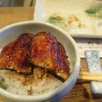 柳家 - 天然鰻(長良川)を鰻丼で