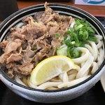 麺処 綿谷 - 肉ぶっかけ1玉420円(税込)