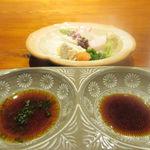 不風流 - お造り ポン酢 醤油
