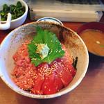 まぐろ食堂 天満のとらやん - 贅沢丼♡¥1580