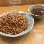 梁山泊 - 梁山泊(東京都練馬区関町南)肉あんかけチャーハン 840円